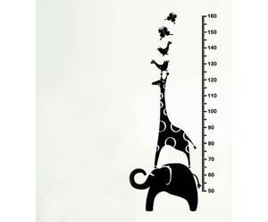 Sticker da parete Meter - H130 x L55 cm