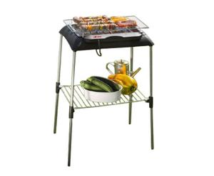 Barbecue elettrico con cavalletto per giardino