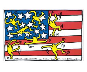 Stampa Untitled - Keith Haring - 27X27