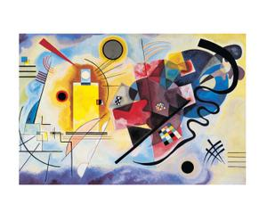 Stampa Gelb Rot Blau - Wassily Kandinsky - 90X60