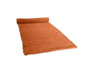tappeto BURMA arancione zucca - 60X180 cm
