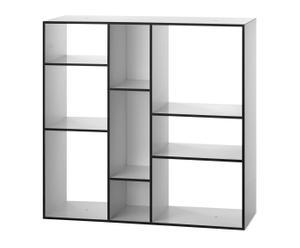 Libreria Kubus - bianco + nero