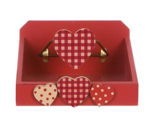 scatola portatovaglioli cuore