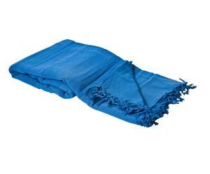 copriletto in cotone azzurro Jasmine - 260X260 cm