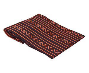 copriletto in cotone nero Jafar - 260X260 cm