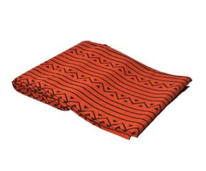 copriletto in cotone arancione Jafar - 260X260 cm