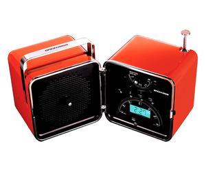 Radio/sveglia portatile TS 522 CR - arancio sole