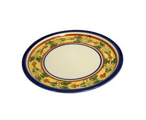 piatto multifunzione in ceramica siciliana