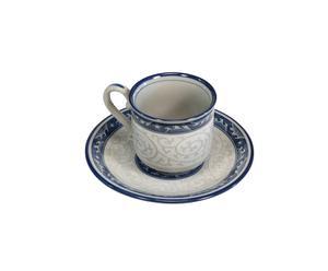 Tazza da caffè con piattino Namikarakusa