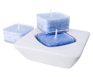 3 candele cristalline alla Chamomile&Lavender