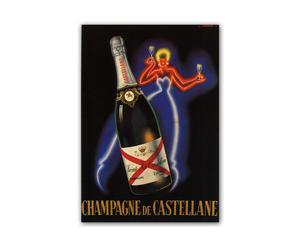 Stampa Champagne - 42x60 cm