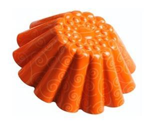 Stampo per budino De&Co arancione - Ø 21 cm