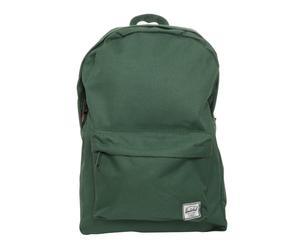 Zaino rivestito in cotone verde CLASSIC  PACK - 39X27,94X12,7 cm