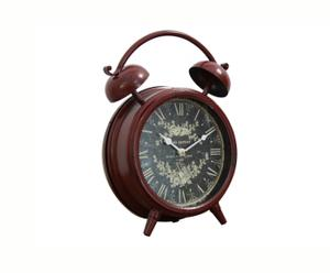 Orologio da tavolo in metallo Good Morning - Ø24 cm