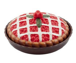 Tortiera con coperchio Crostata di ciliegie