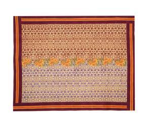 Quilt Dam Dam 180X270 viola e marrone
