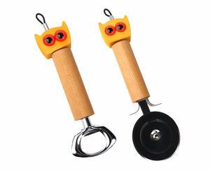 GUFO utensile tagliapizza + GUFO utensile apribottiglia