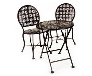 Set di 1 tavolino + 2 sedie Bimbo