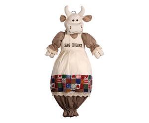 Portasacchetti in tessuto Cow