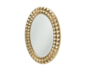 Specchio ovale INTAGLIO oro