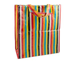 Borsa shopper in PP-Design multicolore - 40X45X16,5 cm