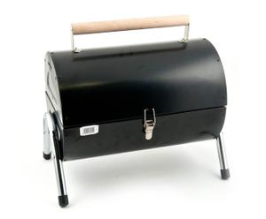 Barbecue portatile in metallo con griglia singola - 27,5X20X14 cm
