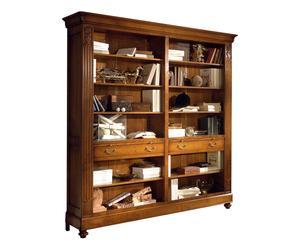 Libreria a giorno - legno - 212X42X215 cm