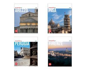 Set di 4 guide: Perugia, Arezzo, Firenze, Pisa