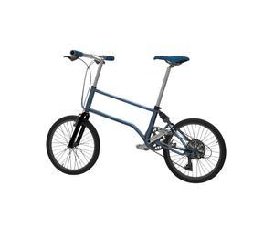 City Bike blu by VALENTIN VODEV