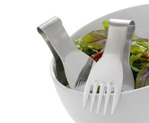 Set di posate per insalata in acciaio inox Parma