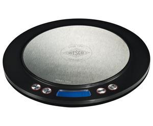Bilancia digitale da cucina nero Scale - Ø 20/H 1,5 cm