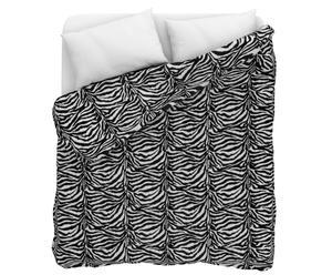 Trapunta invernale matrimoniale in 100% cotone - zebrato