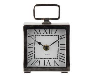 orologio da tavolo in metallo classique - 10x15x2 cm