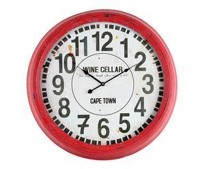 orologio da parete in metallo navy - d 62 cm