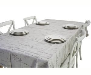 TOVAGLIA in lino LETTERS - 145X250 cm