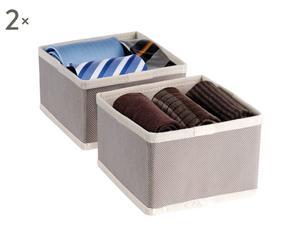Set di 4 organizer per cassetti EasyBox - 14x14x9 cm
