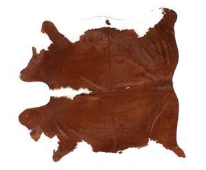 Tappeto in cavallino marrone chiaro e bianco - 160x240 cm
