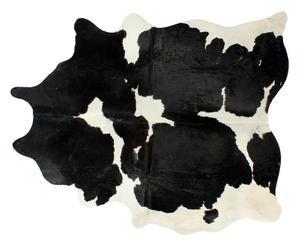 Tappeto in cavallino nero e bianco - 160x240 cm
