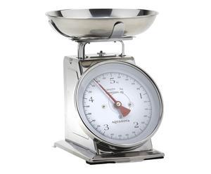 bilancia da cucina in acciaio inox larissa - 22x14x20 cm