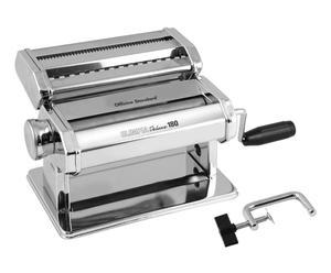 Macchina per pasta manuale in acciaio Deluxe MM180 cm - 37X15X20 cm