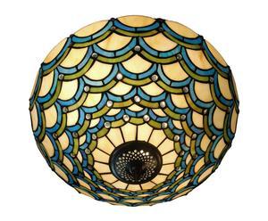 Plafoniera in vetro Sofia - 27x41 cm