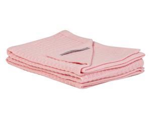 Copertina da culla in lana vergine SONNY BOY rosa - 110x150 cm