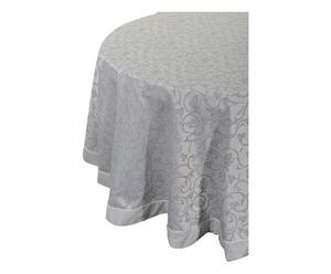 Tovaglia tonda in misto cotone Brenda grigio - d 175 cm