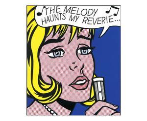 Stampa su pannello in mdf Reverie from 11 Pop artist vol. 2 - 58x68 cm