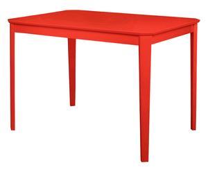 Tavolo in mdf Kaos rosso - 110x76x75 cm
