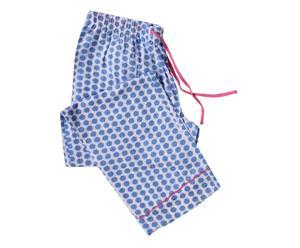 Pantaloni da pigiama da donna in cotone organico maisie - taglia small