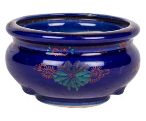 Contenitore cinese per bonsai in porcellana - 8x13 cm