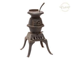 Stufa in ghisa e ferro a carbone - 43x68x43 cm