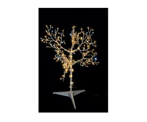 Albero luminoso a led Wood bianco caldo - h 90 cm