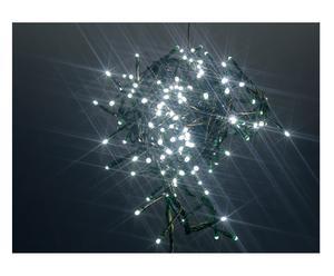 Filo di luci led per esterno con giochi di luce bianco - l 600 cm